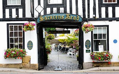 Saracens Head Visit Southwell